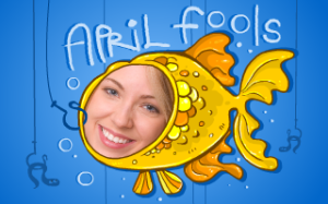 April Fools Day gullible fish